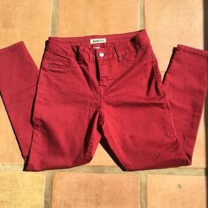 Red Pants size 5, New without tags